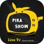 icon Pika show Live TV Show Free Movies, Cricket Guide