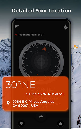 Pro Virtual Compass 360 - Free Digital Compass
