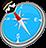 icon com.quranreading.qibladirection 6.8