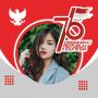 icon Photo Frames HUT RI Ke 75 | 17 Agustus 2020