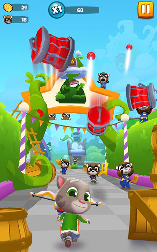 Talking Tom Blast Park: The New Blasting Adventure