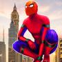 icon Flying Spider Super Hero