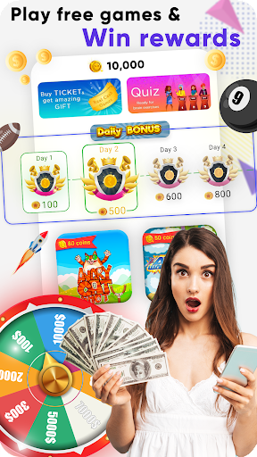 Real Cash Games : Win Big Prizes and Recharges