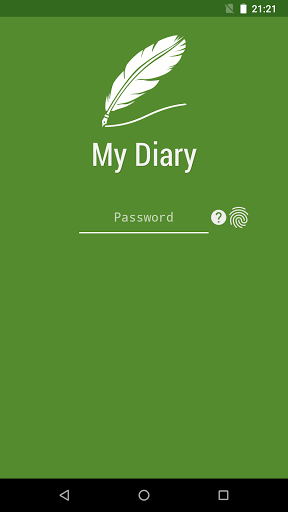 My Diary - Memoir, Journal