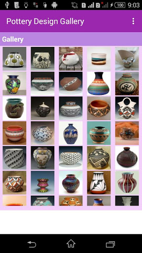 Pottery Design Gallery