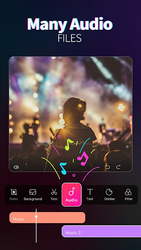 Video Editor PRO - Create videos within ONE tap