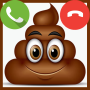 icon Fake Call Poop Game