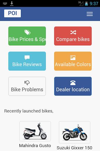 India Bikes : Price Specs