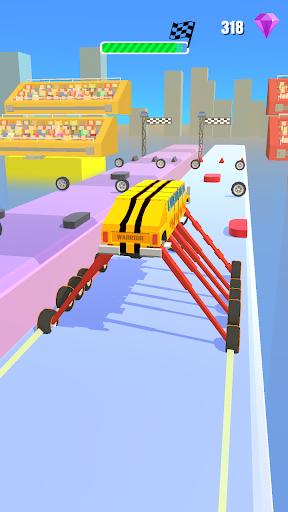 Stretch My Wheels! Car Racing