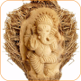 icon Wooden art craft