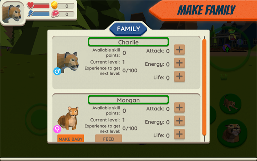 Cougar Simulator: Big Cat Family Game