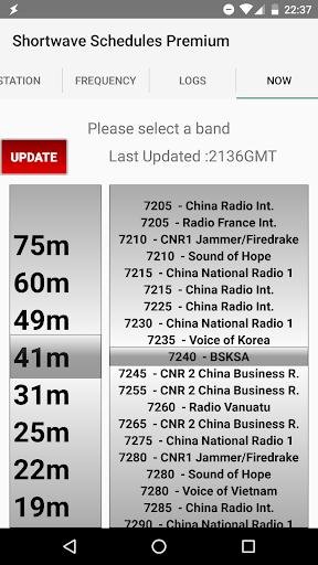 Shortwave Radio Schedules