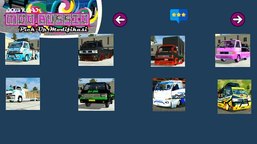 Download Mod Bussid Pickup Modifikasi
