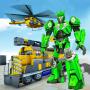 icon Super Train robot transformation: Grand robot game
