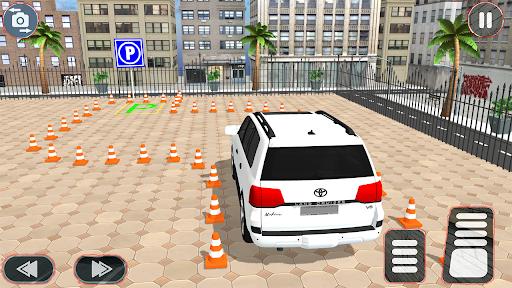 Prado parking Modern Car Parking: car games 2021