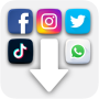 icon Social Media Content Downloader - Photo & Video