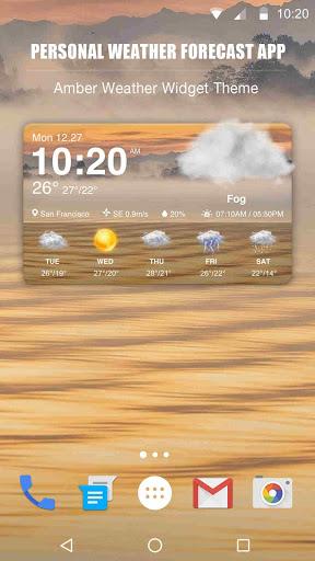 New Weather App & Widget for 2018
