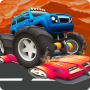 icon Monster Trucks Rival Crash Demolition Derby Game