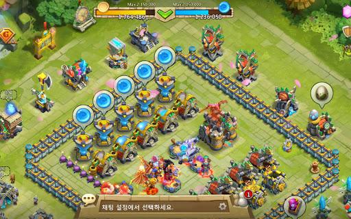 Castle Clash: Intrepid troops