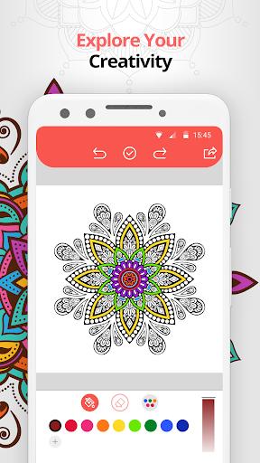Amandala - Mandala Coloring Pages for adults