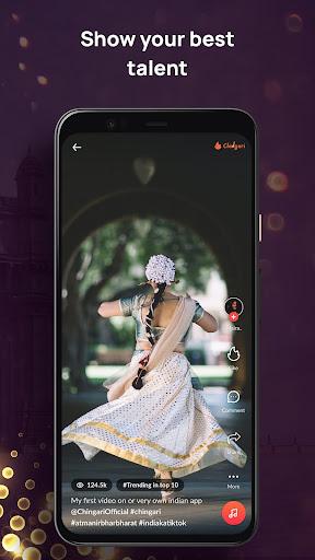 Chingari - WhatsApp status, viral videos & chats