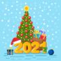 icon Bonne année 2021 stickers pour WhatsApp