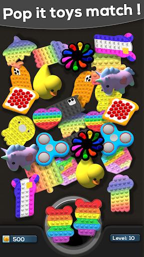 Fidget Toys Match 3D: pop it - Antistress Fidgets