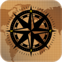 icon Compass With Maps & Directions