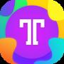 icon Telegraph : Typography Photo Effect Editor