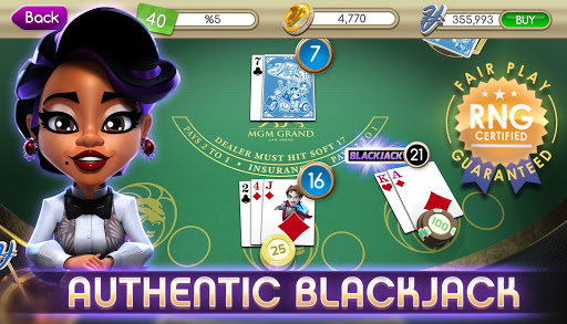 myVEGAS Blackjack -Free Casino
