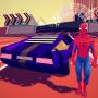 icon Retro Car Spider Hero Driving Simulator