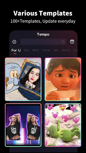 Tempo - Music Video Maker with Effects