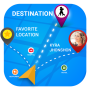 icon GPS Navigation With Friends Contact & locations