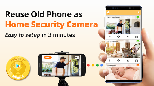 Security Camera/ Caregiver Video Monitor - Alfred