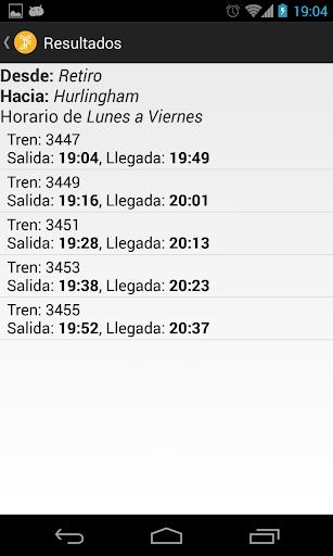 San Martin timetables