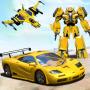 icon Robot Car Transforming Game - Robot Games