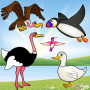 icon Birds Game for Toddlers Puzzle