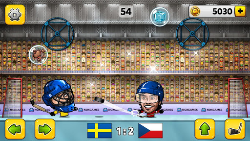 Puppet Ice Hockey: Pond Head
