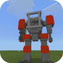 icon Defender Robot Mod for MCPE