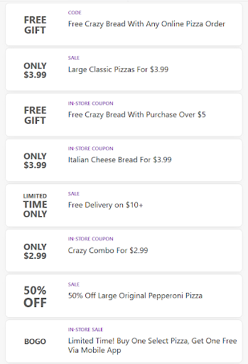 Pizza Coupons & Games For Little Caesar's Pizza
