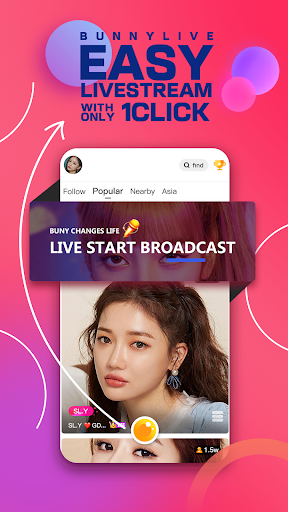 Bunny Live— Live Stream & Video dating