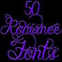 icon Romance Fonts 50