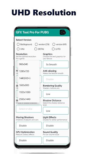 GFX Tool for Battleground - Game Launcher - BGMI