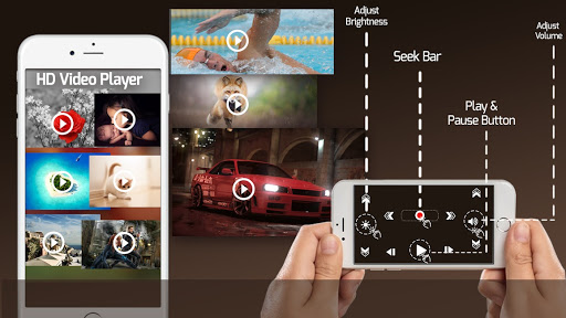 Videder Video Player-All Format 4k Video Player HD