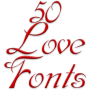 icon Fonts for FlipFont Love Fonts