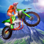 icon Mega Ramp Bike Impossible Stunts - Offline Racing