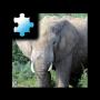 icon Jigsaw Puzzle: Elephant