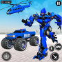 icon US Police Monster Truck Robot