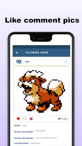 Pokepix Color By Number - Art Pixel Coloring