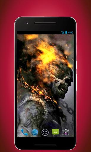 Skull Wallpapers - Fire Version
